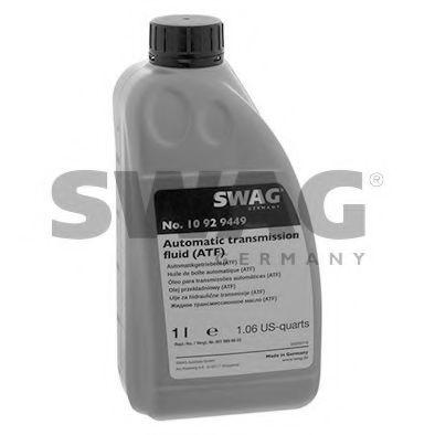 Автотрансмиссионное масло (ATF) (красное) 1L SWAG 10929449