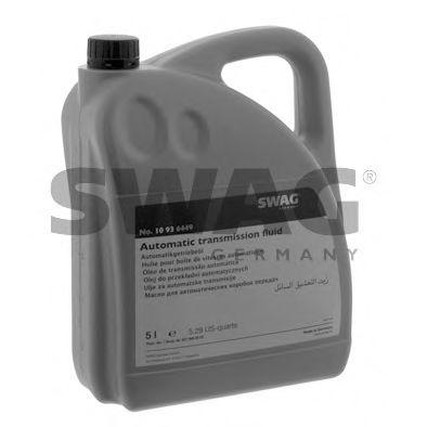 Автотрансмиссионное масло (ATF) (красное) 5L SWAG 10936449