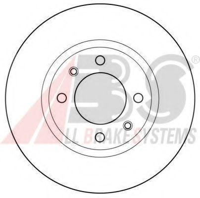 Гальмiвнi диски  ABS 15414