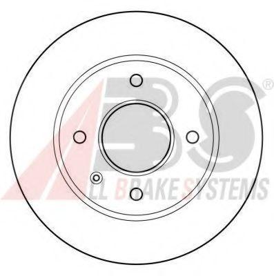 Гальмiвнi диски ABS 15728