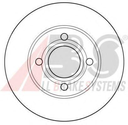 Гальмiвнi диски  ABS 15746
