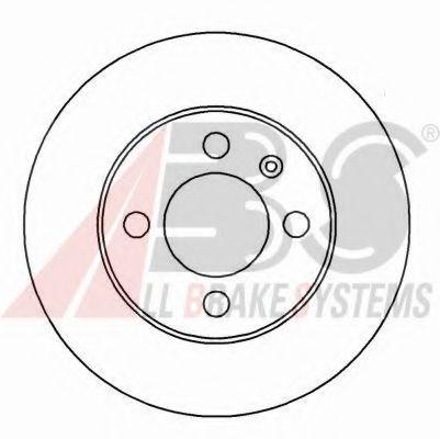 Гальмiвнi диски ABS 15810