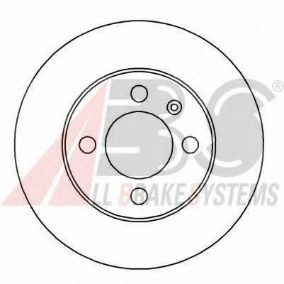 Гальмiвнi диски ABS 15935