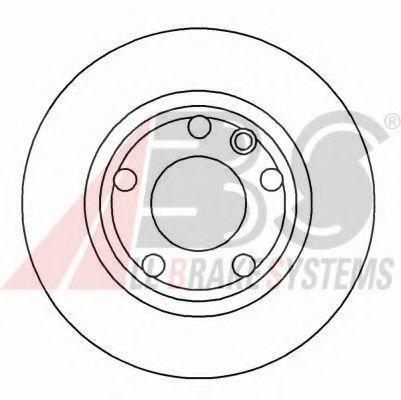Гальмiвнi диски ABS 16083