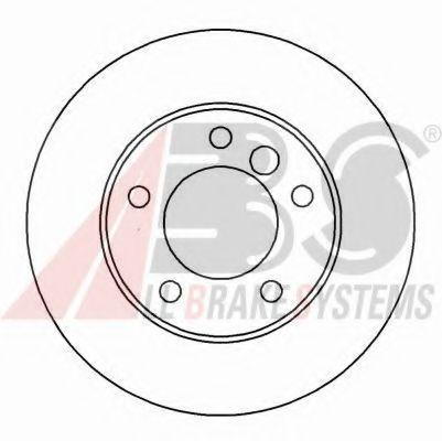 Гальмiвнi диски ABS 16086