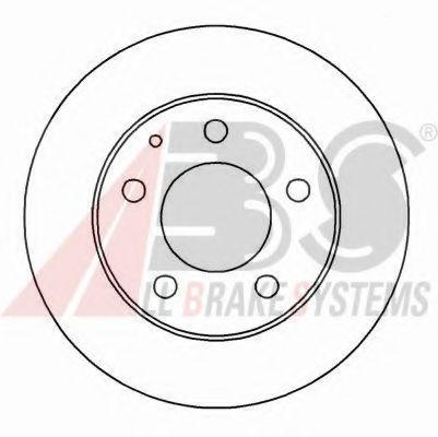 Гальмiвнi диски  ABS 16089