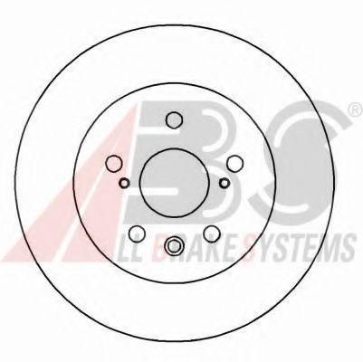 Гальмiвнi диски ABS 16277