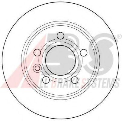 Гальмiвнi диски ABS 16298