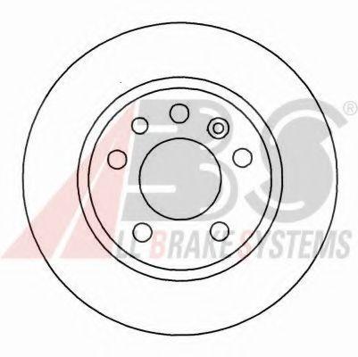 Гальмiвнi диски  ABS 16489