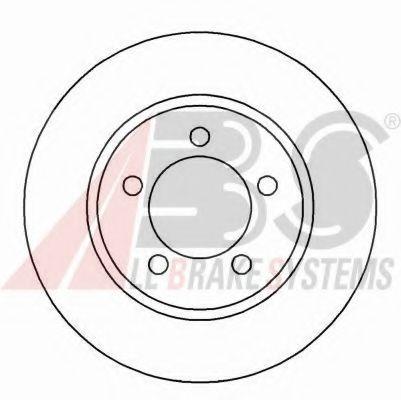 Гальмiвнi диски ABS 16569