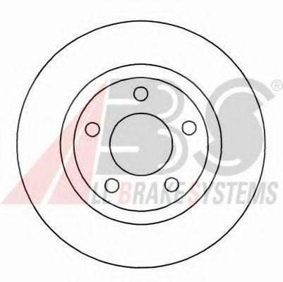 Гальмiвнi диски  ABS 16877