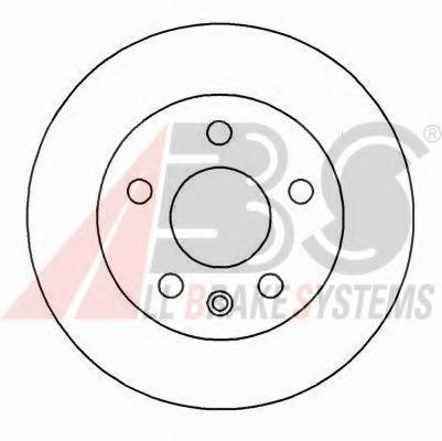 Гальмiвнi диски ABS 16887
