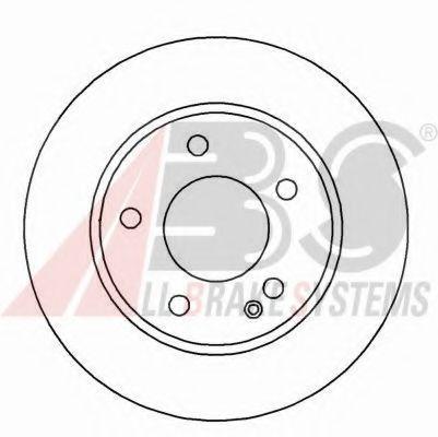 Гальмiвнi диски  ABS 16985