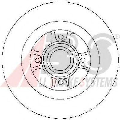 Гальмiвнi диски  ABS 17029
