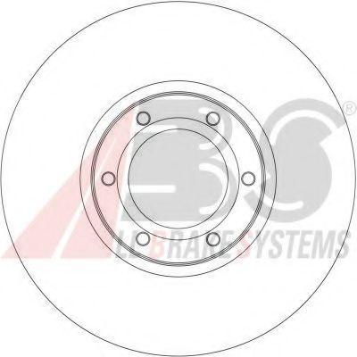 Гальмiвнi диски ABS 17036