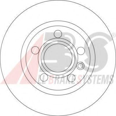 Гальмiвнi диски ABS 17190