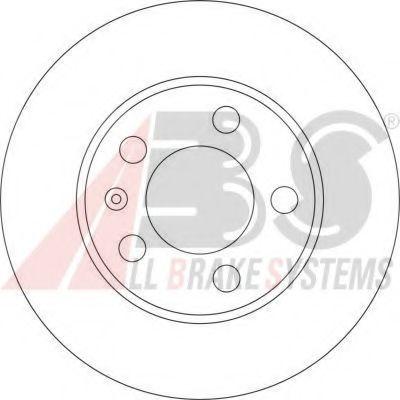 Гальмiвнi диски ABS 17194