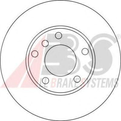 Гальмiвнi диски ABS 17335
