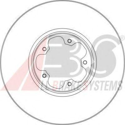 Гальмiвнi диски ABS 17356