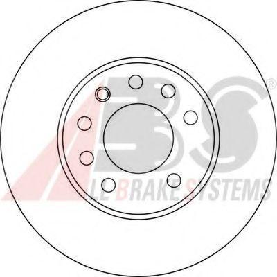 Гальмiвнi диски  ABS 17368