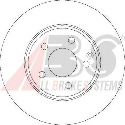 Гальмiвнi диски ABS 17403