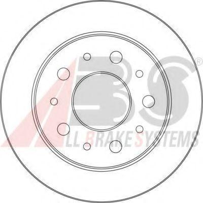 Гальмiвнi диски ABS 17462