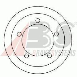 Гальмiвнi барабани ABS 2405S