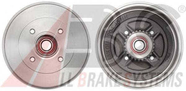Гальмiвнi барабани з пiдшипником  ABS 2698SC