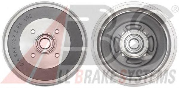 Гальмiвнi барабани з пiдшипником ABS 2758SC