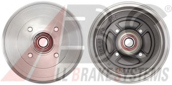 Гальмiвнi барабани з пiдшипником ABS 2828SC