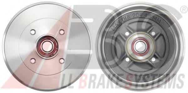 Гальмiвнi барабани з пiдшипником ABS 2880SC