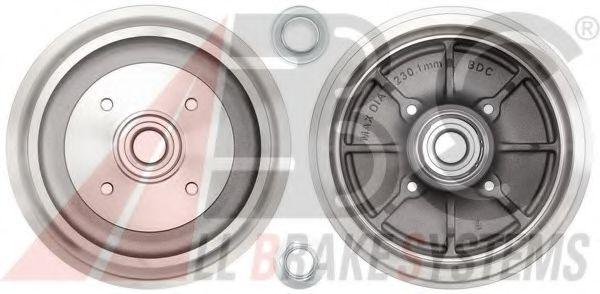 Гальмiвнi барабани з пiдшипником ABS 3439SC