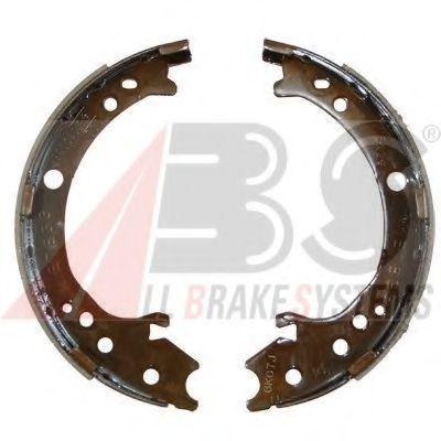 Барабанні гальм.колодки задні Honda CR-V II/III 2.0-2.4 02-09 ABS 9204