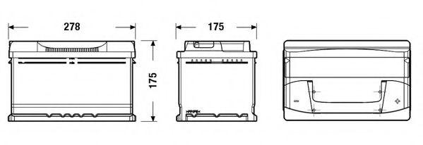 Акумулятор EXIDE EB712