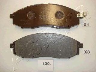 Тормозные колодки ASHIKA 5001130