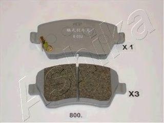Тормозные колодки ASHIKA 5008800