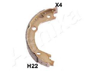 Тормозные колодки ASHIKA 550HH22
