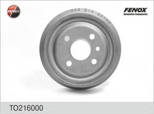 Гальмівні барабани   Lanos/ Nexia/ Opel 1.4-1.6 FENOX TO216000