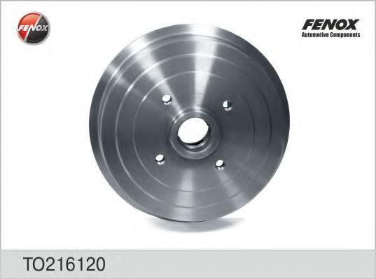 Гальмівні барабани   Lanos ABS+ступица FENOX TO216120