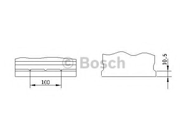 'BOSCH Акумулятор BOSCH 0092S40280