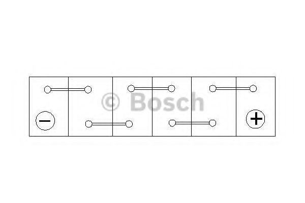 'BOSCH Акумулятор BOSCH 0092S40210