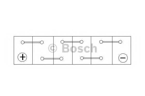 'BOSCH Акумулятор BOSCH 0092S40220