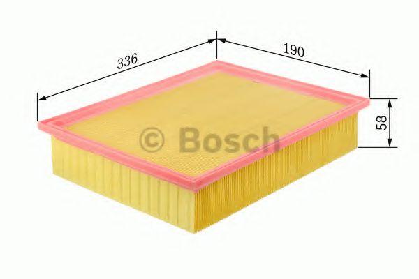 0986626832 Фильтр воздушный Bosch BOSCH 1457433699