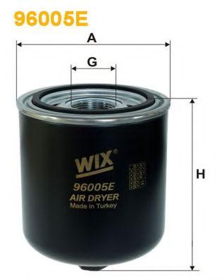'WIX FILTERS Фільтр вологоосушувача WIXFILTERS 96005E