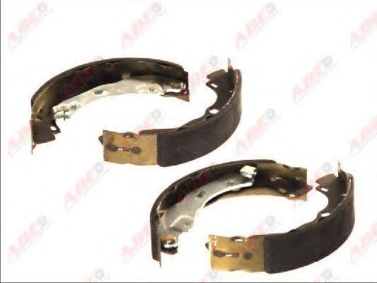 Тормозные колодки задние 203x39 Renault Clio II (ABS) ABE C0R023ABE