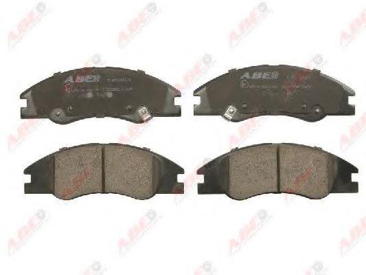 Тормозные колодки передние (17мм) KIA Cerato 04- (15