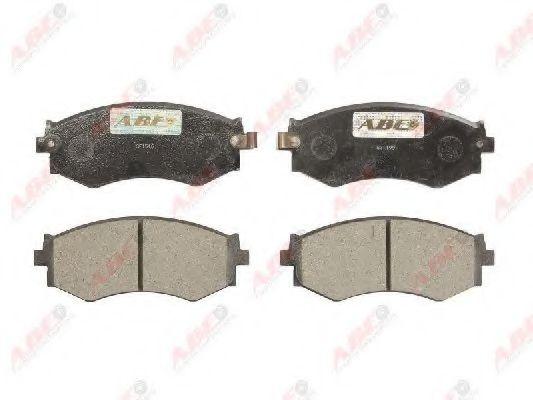 Тормозные колодки ABE C11042ABE
