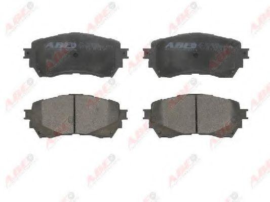 Тормозные колодки передние  Mazda 6  2.0-2.5 12- ABE C13068ABE