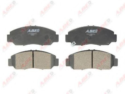 Тормозные колодки передние Honda Accord 03- ABE C14048ABE