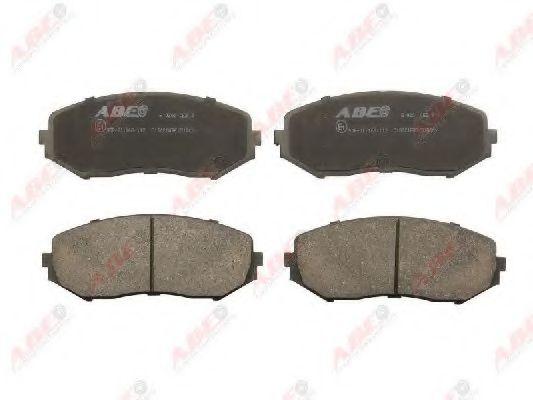 Тормозные колодки передние (17.1mm) Suzuki Grand Vitara 05- ABE C18021ABE
